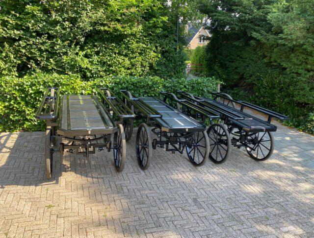100e Loopkoets bij levering 3 Grote Loopkoetsen voor Gemeente Rotterdam